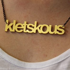 Woordketting Kletskous goud*