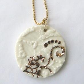 Ketting goud details