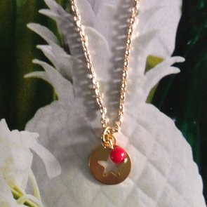 Ketting Ster rood