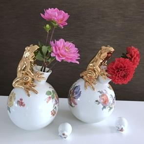 Kikker karaf-vaas Flowerbomb