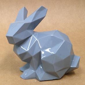 Porcelain Bunny grijs