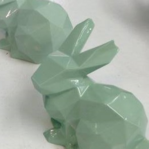 Porcelain Bunny groen