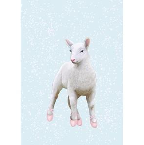 Art-print Lamb Ballerina