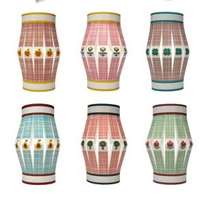 Little lanterns set of 7