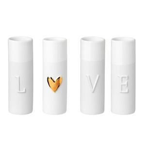 LOVE vases
