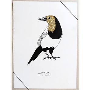 Ekster Kunst print