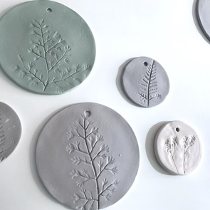 Plant stamp Big grey