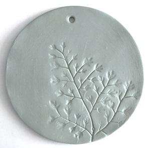Plant stamp Big groen