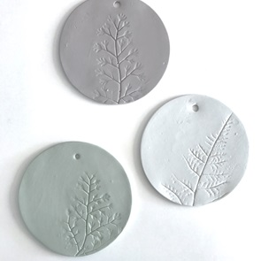 Plant stamp Big white