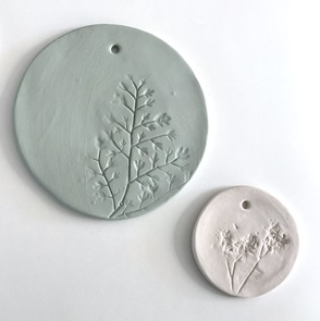 Plant stamp white