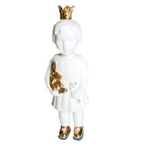 Mini popje goud