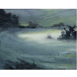 Schilderij Fog light