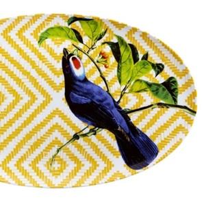 Bird Ovale schaal