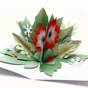 Paper flowers Winter*