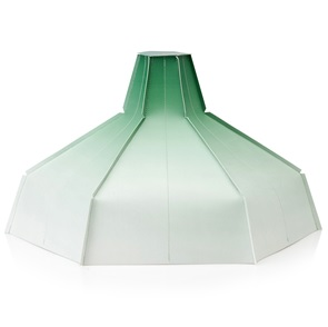Folded Groen Lampshade