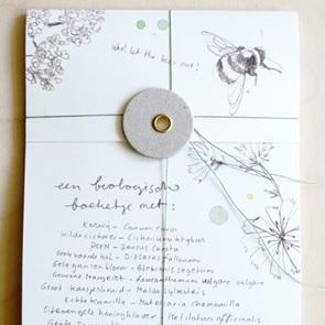 Zaden kaart Bouquet*