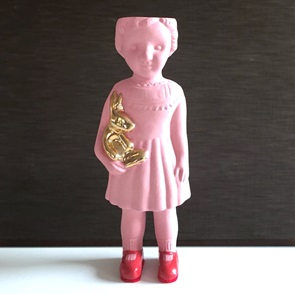 Pink doll open mind