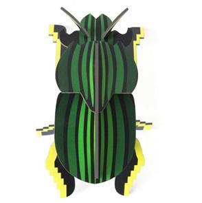 Scarab beetle 3d