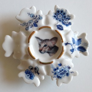 Broche Siamees