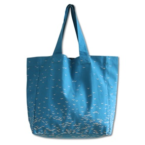 Bag Sky blauw large*