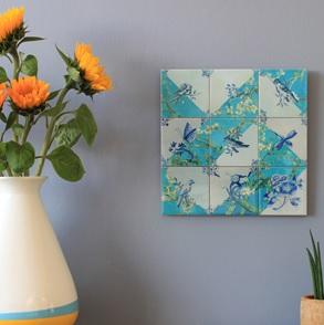Storytiles tableau van Gogh's Tuin