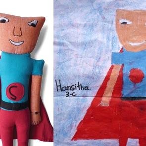 Superheld Hansitha Nieuw