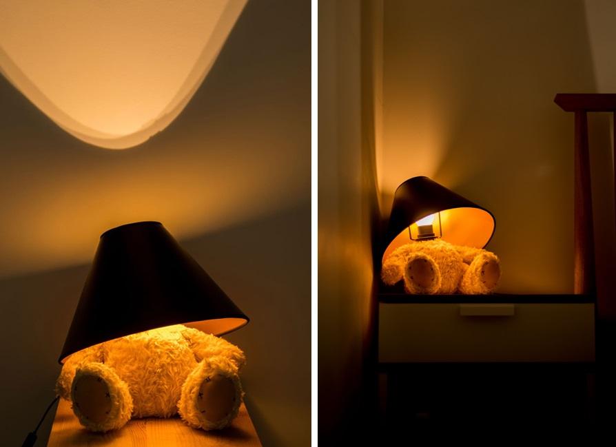 ... Teddy Bear Lamp ...