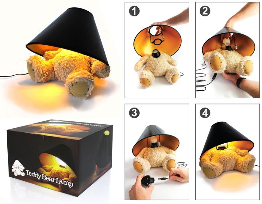 ... Teddy Bear Lamp