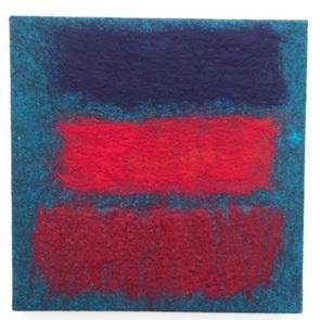 Textiel kunstwerk 1