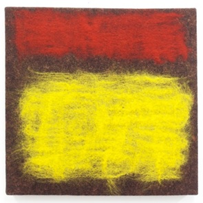 Textiel kunstwerk 6