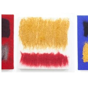 Textiel kunstwerk 7