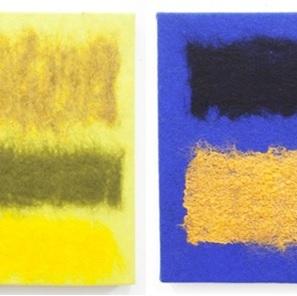 Textiel kunstwerk 3 Nieuw