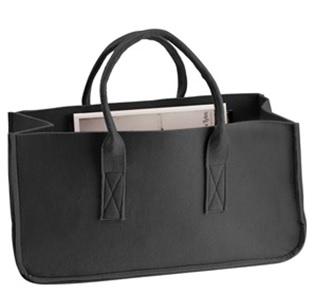 Magazine holder tas zwart