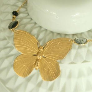 Vlinder Icarus ketting