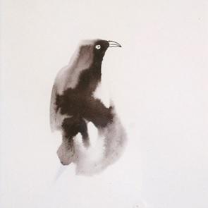 Kunstwerk droom vogel 3