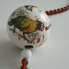 Tropical Birdy ketting