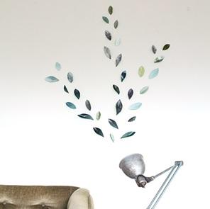 Wallpaper Leaves groen*
