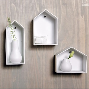 Wall houses set of 3