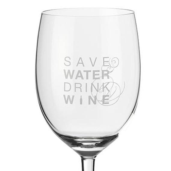 Quote Wine Glass