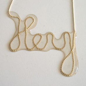 Hey ketting Goud