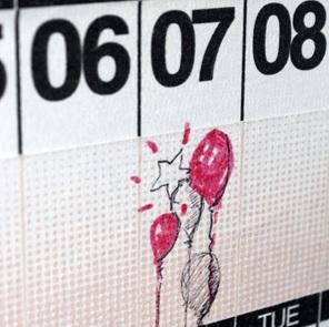 Year Round tape kalender