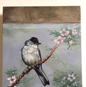 Schilderij Zwartkop