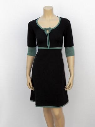 Contrast jurk