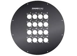 MFP380XLR-D16/4 Steel front plate
