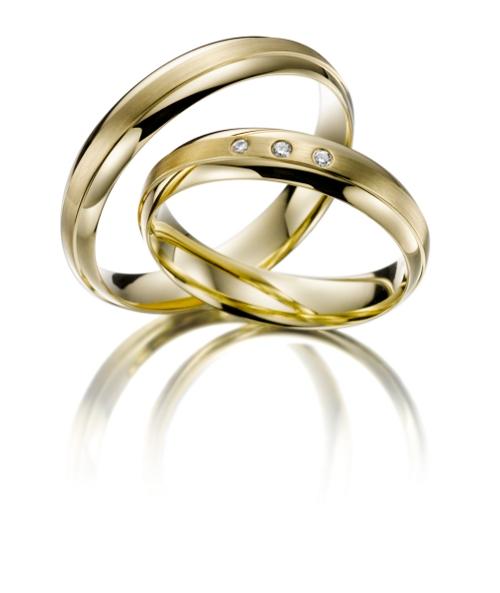 Gouden Trouwringen. Heren ring gratis