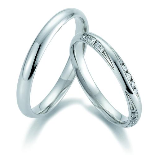 Platina trouwringen