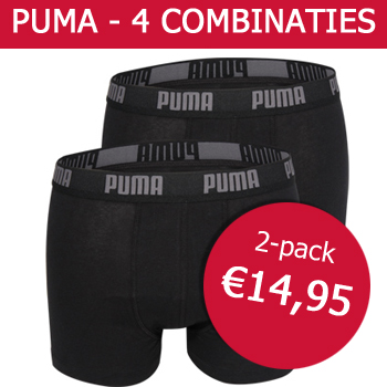 Puma Boxershorts - Gratis vertuurd