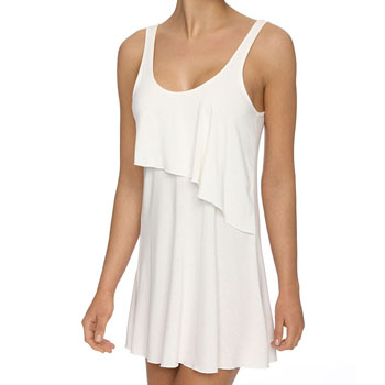 Siesta Dress with frill top Ivory