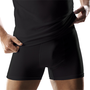 Heren boxer short kort model Zwart