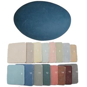 Kiezel urn (16 kleuren)